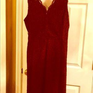 Loft lace dress size 18